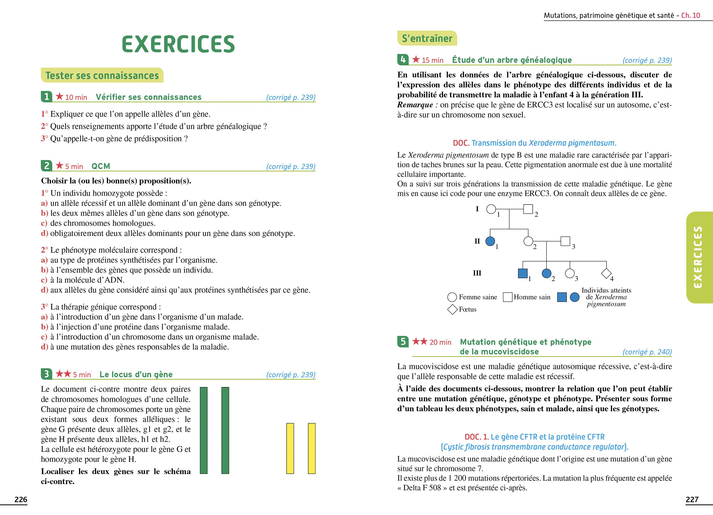 Exos Resolus Specialite Svt 1ere 00 Grand Format Broche Hachette Education Enseignants