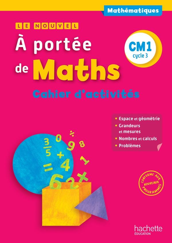 Le Nouvel A Portee De Maths Cm1 Cahier De Mesures Geometrie Ed 2016 00 Grand Format Broche Hachette Education Enseignants