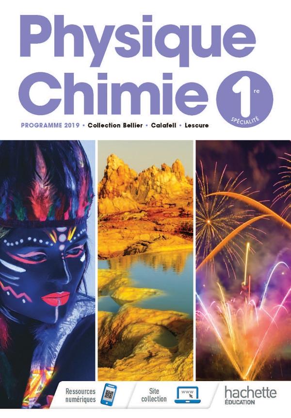 Physique Chimie 1ere Livre Eleve Ed 2019 30 Grand Format Integra Hachette Education Enseignants