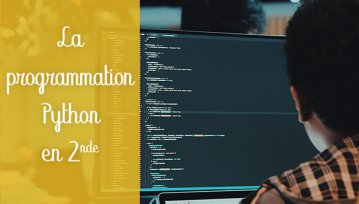 programmation python seconde