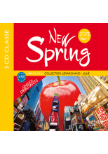 New Spring anglais 3e LV2 (A2) - CD audio classe - Edition 2011