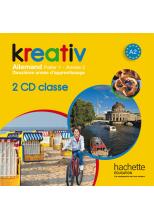 Kreativ année 2 palier 1 - Alemand - CD audio classe - édition 2014