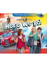Here we go! anglais 6e - CD audio classe - Edition 2014