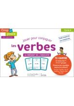 Coup de pouce pour apprendre Hachette Istra - Jeu de cartes Présent de l'indicatif - 2019