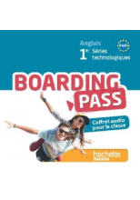 Boarding pass 1re séries technologiques - 2 CD audio - Ed.2015