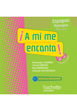 A mi me encanta 1re (B1) - Espagnol - CD audio classe - Edition 2011