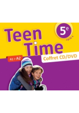 Teen Time anglais cycle 4 / 5e - Coffret CD/DVD classe - éd. 2017