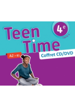 Teen Time anglais cycle 4 / 4e - Coffret CD/DVD classe - éd. 2017