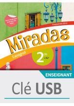 Miradas 2nde - Clé USB classe - Ed. 2019