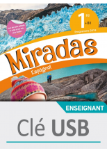 Miradas 1ère - Clé USB - Ed. 2019