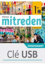 Mitreden 1ère - clé USB classe - Ed. 2019