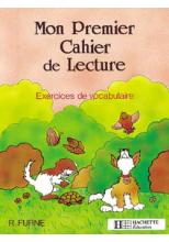 Mon premier cahier de lecture - Ed.1986
