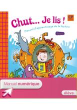 Chut... Je lis ! - Méthode de lecture CP - Tome 1 éd. 2009 - Manuel numérique élève