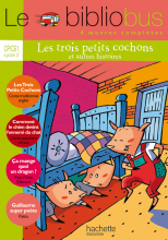 Le Bibliobus N° 13 CP/CE1 - Les Trois petits cochons - Livre de l'élève - Ed.2006