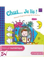 Chut... Je lis ! CP - Tome 2 - Manuel numérique enseignant - Ed.2009
