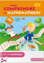 Pour comprendre les mathématiques CE1 - Fichier élève numérique enseignant - Ed 2009