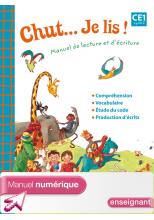 Chut... Je lis ! - Méthode de lecture CE1 - Manuel numérique enseignant - Ed. 2012