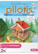Lecture CP - Collection Pilotis - Manuel de code - Manuel numérique simple élève - Ed. 2013