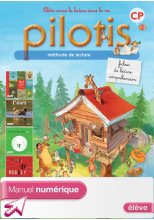 Lecture CP - Collection Pilotis - Fichier de lecture compréhension numérique élève - Ed. 2013