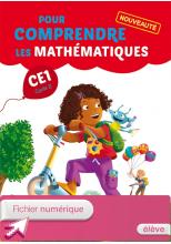 Pour comprendre les mathématiques CE1 - Fichier élève numérique version élève - Ed. 2014
