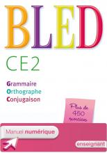 Bled CE2 - Manuel numérique simple version enseignant - Ed. 2014