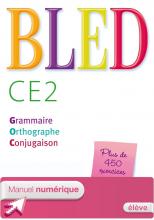 Bled CE2 - Manuel numérique simple version élève - Ed. 2014