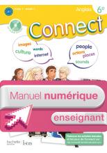 Manuel numérique Connect anglais 6e Edition 2011 - Licence enseignant