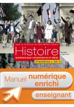 Manuel numérique Histoire 1res ES/L/S (Lambin) - Licence enseignant - Edition 2011