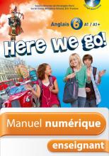 Manuel numérique Here we go! anglais 6e - Licence enseignant - Edition 2014