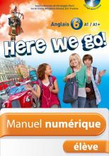 Manuel numérique Here we go! anglais 6e - Licence élève enrichie - Edition 2014