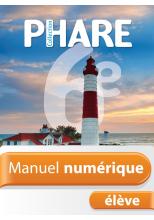 Manuel numérique Phare mathématiques 6e - Licence élève - Edition 2014