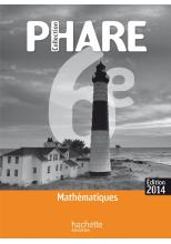 Phare Mathématiques 6ème livre professeur édition 2014