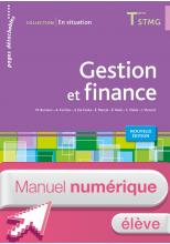 Gestion et finance Terminale STMG - En situation - Manuel numérique élève simple - Ed. 2015