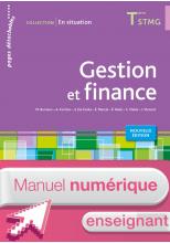 Gestion et finance Terminale STMG - En situation - Manuel numérique enseignant simple - Ed. 2015