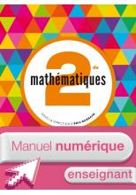 Manuel numérique Mathématiques Barbazo 2de - Licence enseignant - ed. 2014