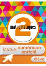 Manuel numérique Mathématiques Barbazo 2de - Licence élève enrichie - édition 2014