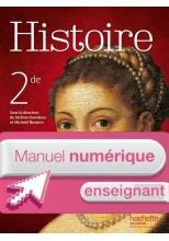 Manuel numérique Histoire 2de - Licence enseignant - Edition 2014