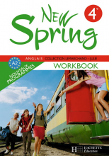 New Spring 4e LV1 - Anglais - Workbook - Edition 2008