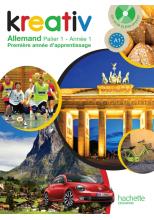 Kreativ allemand année 1 palier 1 - Livre de l'élève - édition 2013