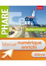 Manuel numérique Phare mathématiques cycle 4 / 5e - Licence élève enrichie - éd. 2016