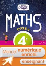 Manuel numérique Mission Indigo mathématiques cycle 4 / 4e - Licence enrichie enseignant - éd. 2016