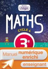 Manuel numérique Mission Indigo mathématiques cycle 4 / 3e - Licence enrichie enseignant - éd. 2016
