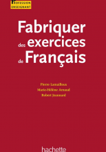 Fabriquer des exercices de français