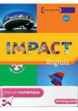 Impact 2de - Manuel numérique - Licence enseignant - Ed.2009