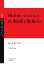 Histoire du droit et des institutions