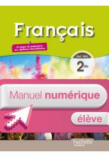 Français 2de Bac pro - Manuel numérique élève simple - Ed. 2014