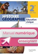 Manuel Histoire Géographie 2nde Bac Pro - Manuel numérique enseignant simple - Ed. 2013