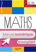 Ressources et pratiques Maths 2de Bac Pro Industriel (A et B) - Manuel numérique enseignant simple