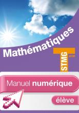 Mathématiques Term. STMG - Manuel numérique élève simple - Ed. 2013