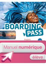 Boarding Pass Terminale séries technologiques - Manuel numérique élève simple - Ed. 2016